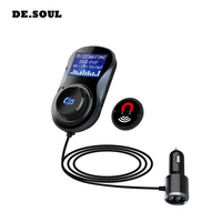 PARASOLANT Bluetooth Car Wireless Handsfree MP3 Player USB Charger Support Micro TF Card U Disk Hands free Bluetooth Adapter