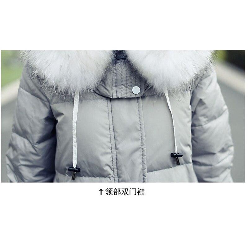 Damski dół kurtki zimowy płaszcz pogrubienie w ciąży płaszcz - Ciąża i macierzyństwo - Zdjęcie 6