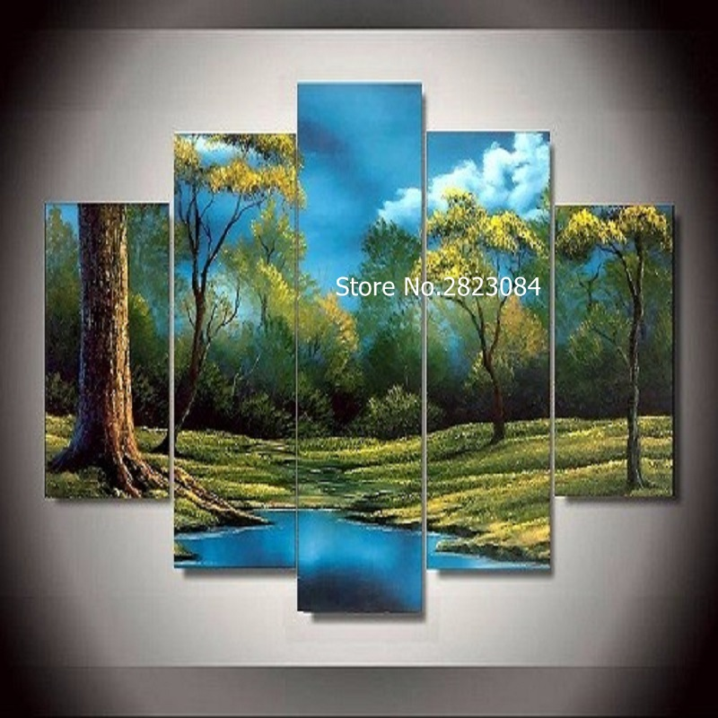 Landschap posters grote koop goedkope landschap posters grote loten van chinese landschap - Modulaire muur ...