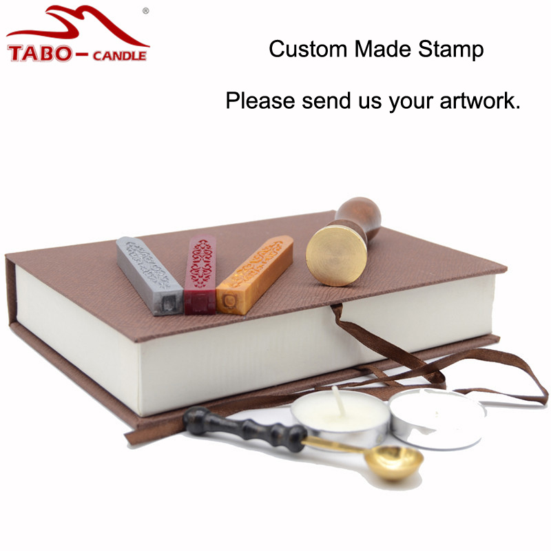 Custom Made Personalized Logo Wedding Invitation Wax Seal Stamp Gift ...