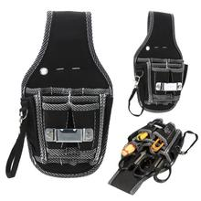 Durable Hardware Waist Tool Bag 9 in 1 Nylon Multi pocket Electrician
