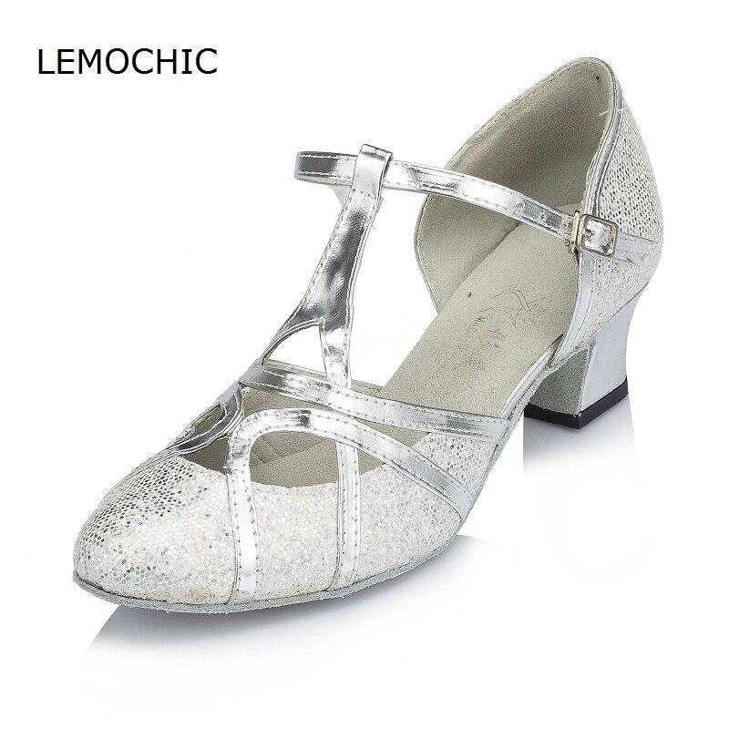 Lemochic arena clásico cuero profesional reciente Latin Samba cha cha tacones  altos tap Jazz buena calidad danza suela blanda zapatos en Zapatillas de  baile ... 3aaa3ccc96f4
