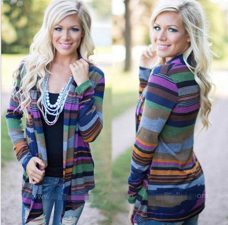 plus size women clothing Ladies Irregular Overcoat Long Sleeves Floral Outwear Coat Cardigan 2016 Womens Hem Cardigan Sweater