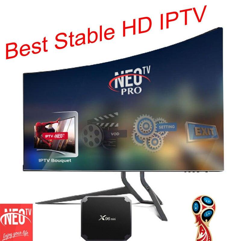 X96MINI IPTV abonnement 3/6/12 Monate für Android TV Box smart tv mag gerät + Italien Belgien deutschland UK EX-YU Spanien IPTV