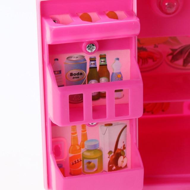Online-Shop Rosa Simulierte Kühlschrank Spaß Kids Pretend Rolle ...