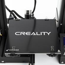 Creality 3D Ender3 kalın 4mm Ultrabase Kendinden yapışkanlı Inşa Yüzey cam plaka 235x235mm için Ender-3 3D yazıcı