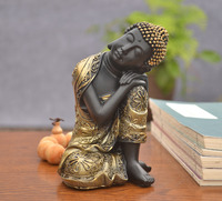 Creative Southeast Asia Decoration Sleeping Buddha Home Decoration Multiple Dimensions Office Town Zen Buddhist Statues