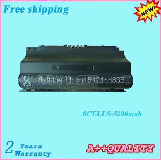 8 ячеек A42-G75 Аккумулятор для ноутбука ASUS G75 G75V G75VM G75VW G75VX