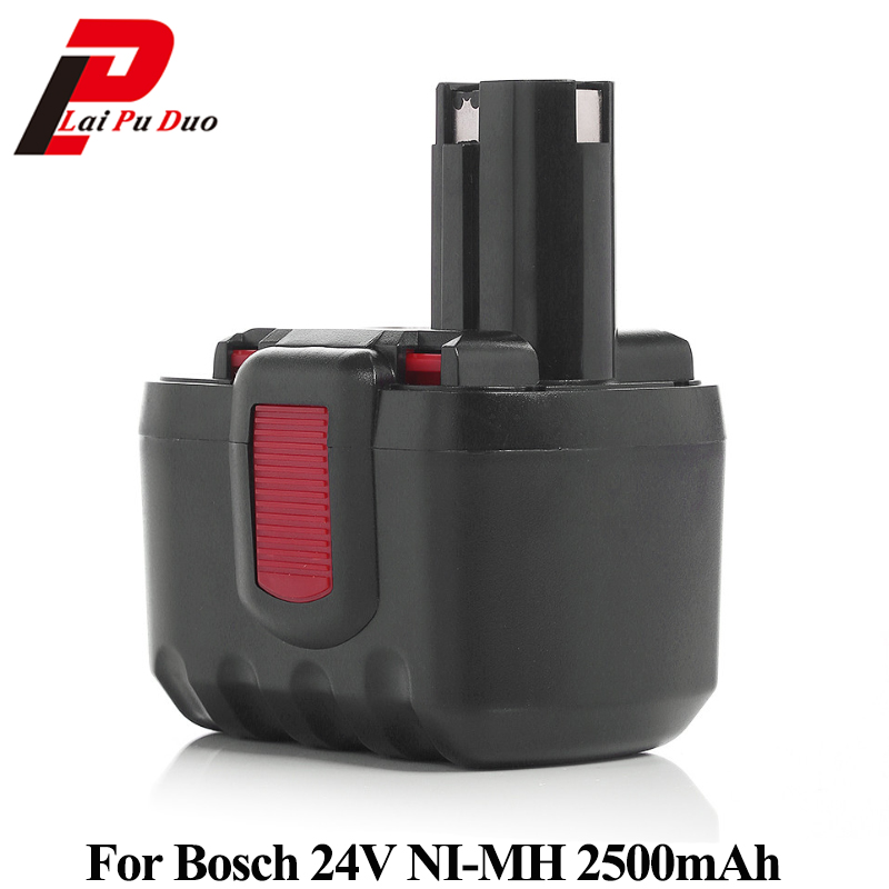 Ni-MH Power Tool Battery 24V 2.5Ah For Bosch:2607335279,BH-2424,12524,GKG24V,2607335445,125-2411524,SAW24V,2607335509,BH24VF