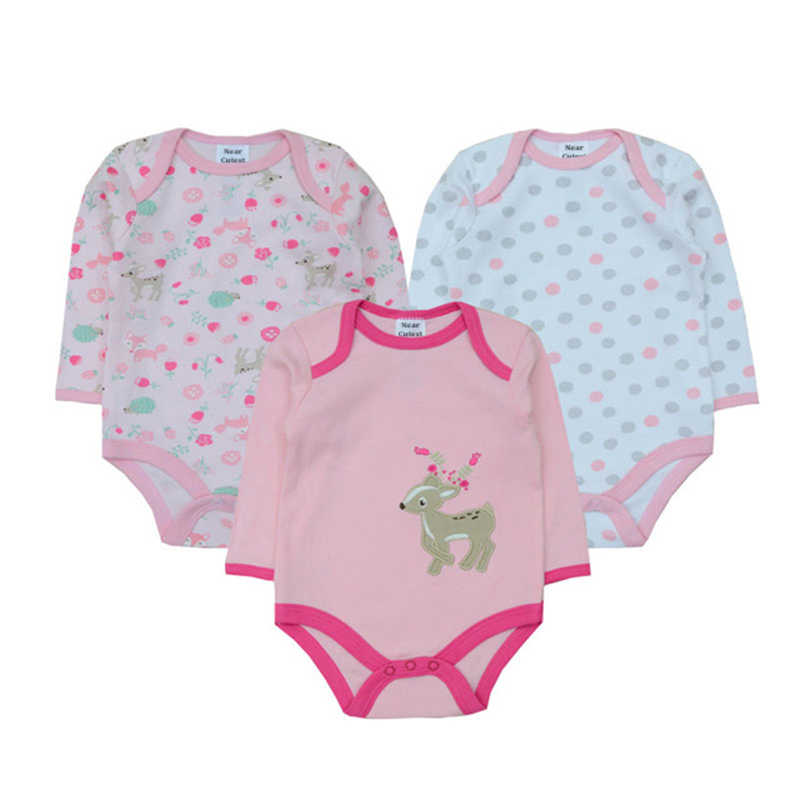 3 шт./партия, Зимние Детские Боди унисекс для маленьких мальчиков, трико для девочек, комбинезон для новорожденных, Рождественская одежда