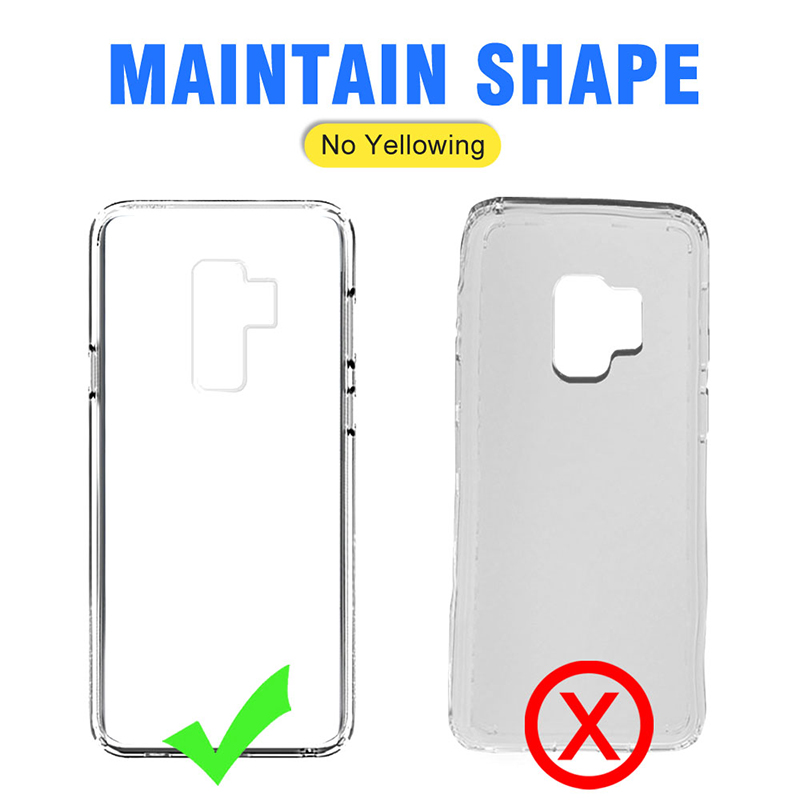 silicon cover s8 Soft Transparent TPU Case For Samsung Galaxy S9 S8 Plus note 9 Clear Silicone Case For Samsung S8 plus note8 s7