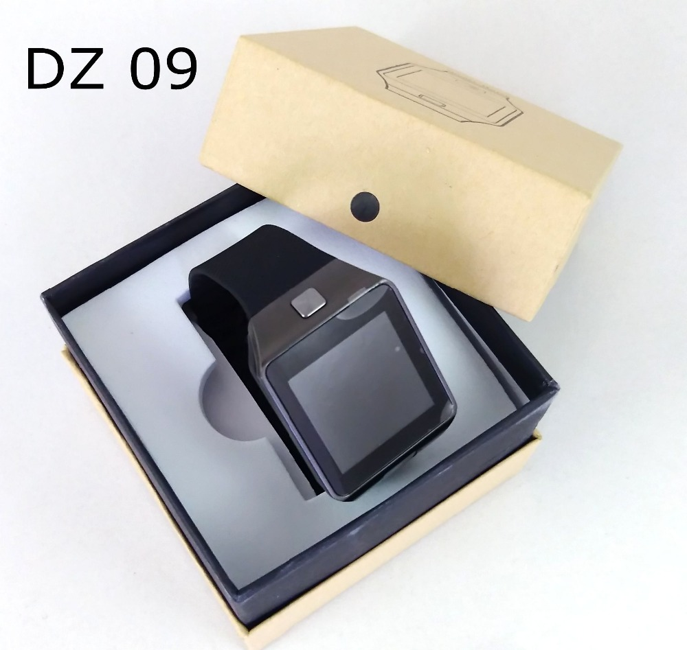 2016 New Smart Watch dz09 With Camera Bluetooth WristWatch SIM Card font b Smartwatch b font