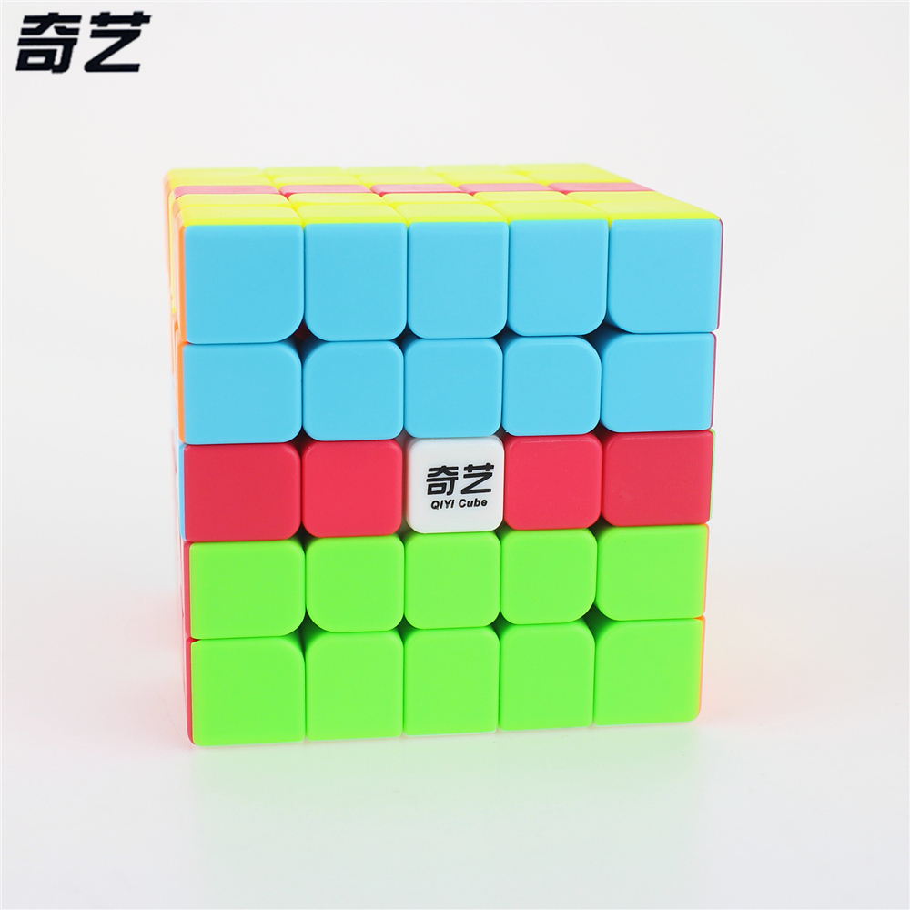 QiYi QI ZHENG S 5x5 Magic Cube Competition Speed Puzzle Cubes Toys For Children Kids cubo stickerless Matte cube Gifts Toys