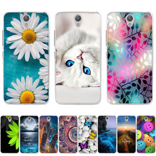 For Coque Lenovo Vibe S1 S 1 S1 Case Soft Silicon TPU Back C