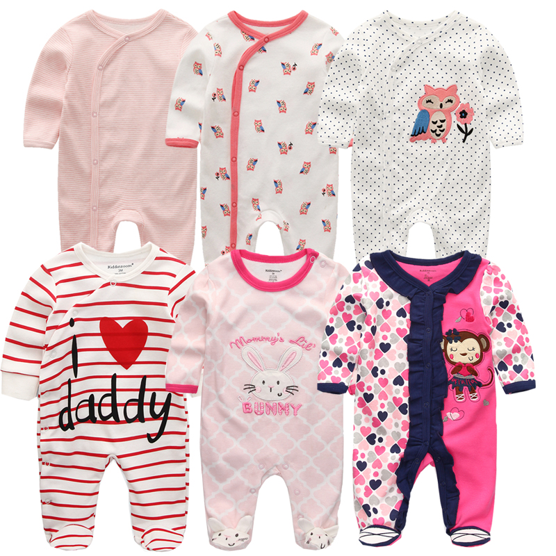 Summer Infant Baby Girls Clothing Cute Cotton Baby Girl Romper Newborn Jumpsuit Toddler Baby Girl Costumes