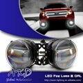 One-Stop Shopping Стайлинга Автомобилей Противотуманные Фары для Ford Fusion mondeo Противотуманные фары с Объективом Высокой Мощности Cob DRL Автомобиля Дневного свет