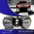 One-Stop Shopping Car Styling Fog Lamp for Ford Fusion mondeo Fog Light with Lens High Power Cob DRL Automobile Daytime Light