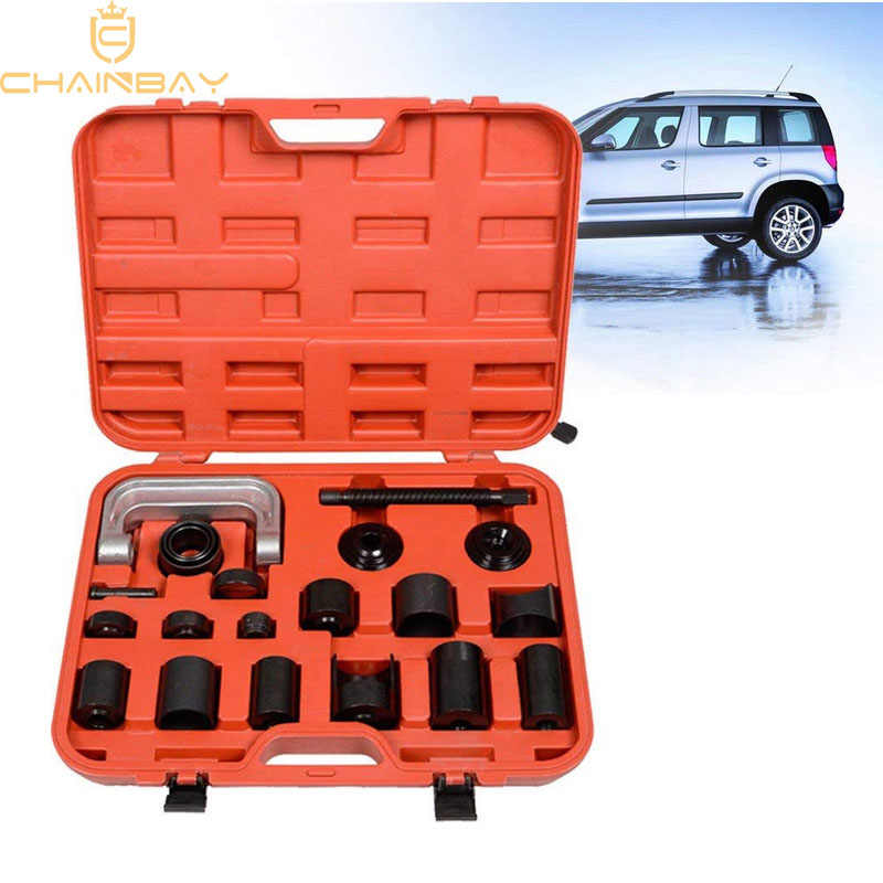 Ball Joint Service Kit,10Pcs 4 in 1 Universal Carbon Steel Ball Joint Remover Installer Kit Remover Separator with 4 Wheel Drive Adaptors and Carrying Case for Most Car