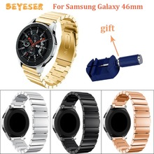 For huawei watch GT wrist Strap Stainless steel watch band For Samsung gear S3/Galaxy 46mm Replacement metal Bracelet wristband stainless steel for huawei watch gt watches strap 22mm for samsung galaxy 46mm gear s3 watch band replacement bracelet wristband