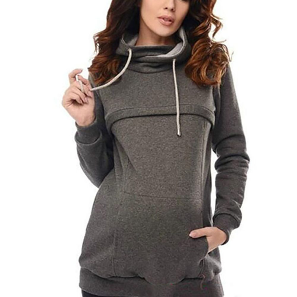 6e6854a943c 2019 Pregnant Women Nursing Sweater Tops Lady Long Sleeve Hoodies ...
