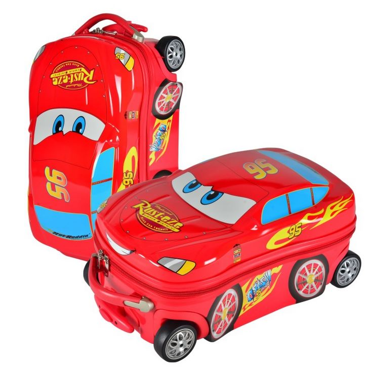 18 20 Cars Cartoon Child Travel Suitcase ABS Kids Trolley Case Hard Shell Rolling Luggage Bag In From Bags On Aliexpress