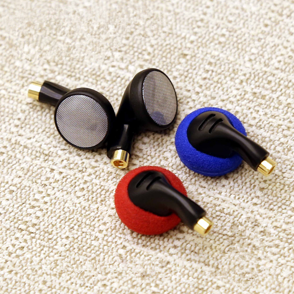 Hot Sales FENGRU DIY PK1 Flat Head Plug DIY Earphone HiFi Bass Earbuds DJ Earbuds Heavy Bass Sound quality with MMCX Interface