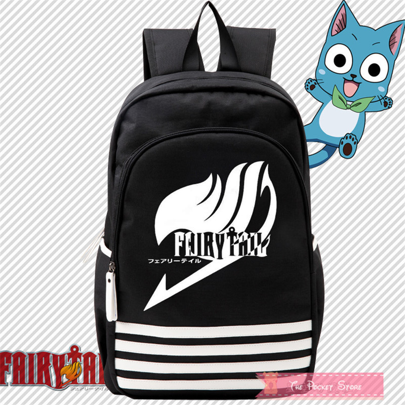 2017 New FAIRY TAIL ZERO Natsu Cosplay Canvas Printing Backpack Mochila Feminina School Backpacks for Teenage Girls Laptop Bags fairy tail shoulders school bags anime canvas luminous printing backpack schoolbags for teenagers mochila feminina