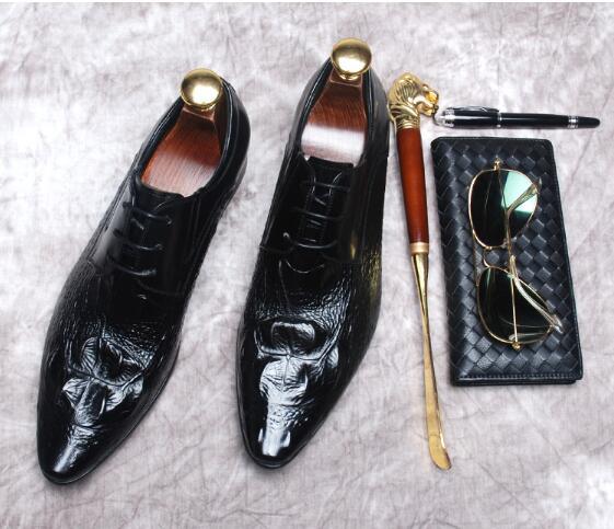Business Spitze Hochzeit Schuhe Leder Karree Quaste Kleid up Britischen Pic Schwarzes Handgemachte Männer as Goodyear qv0wE5t