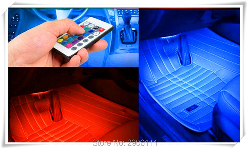 Color LED car interior decoration atmosphere lights for Dodge charger journey challenger caliber caravan ram 1500 nitro avenger лодка intex challenger k1 68305
