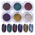 BORN PRETTY 1Box 3D Cat Eyes Magnet Nail Glitter Powder Magic Magnetic Glitter Dust UV Gel Manicure Nail Art PigmentS