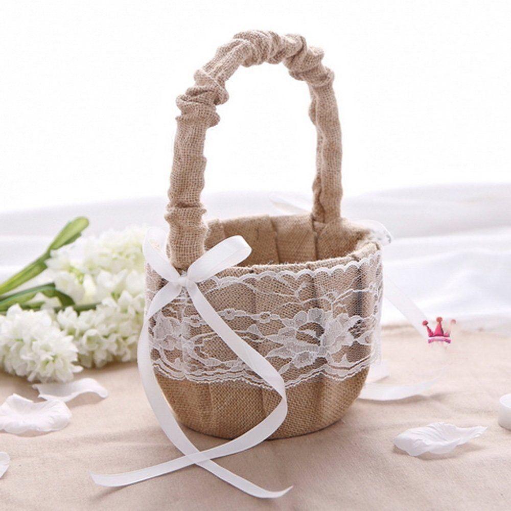 Aliexpress buy rustic vintage burlap lace wedding accessories 57 3g izmirmasajfo