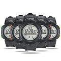 Homens Relógios Desportivos Ao Ar Livre dos homens À Prova D' Água LED Relógio Digital Data Cronômetro Esporte Borracha Relógio de Pulso Masculino Frete grátis Feida