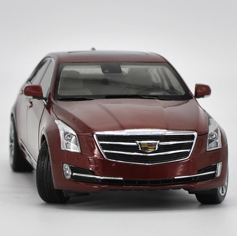 High simulation CADILLAC ATS-L 2016 collection model 1:18 advanced alloy model car,diecast metal model toy vehicle,free shipping цена