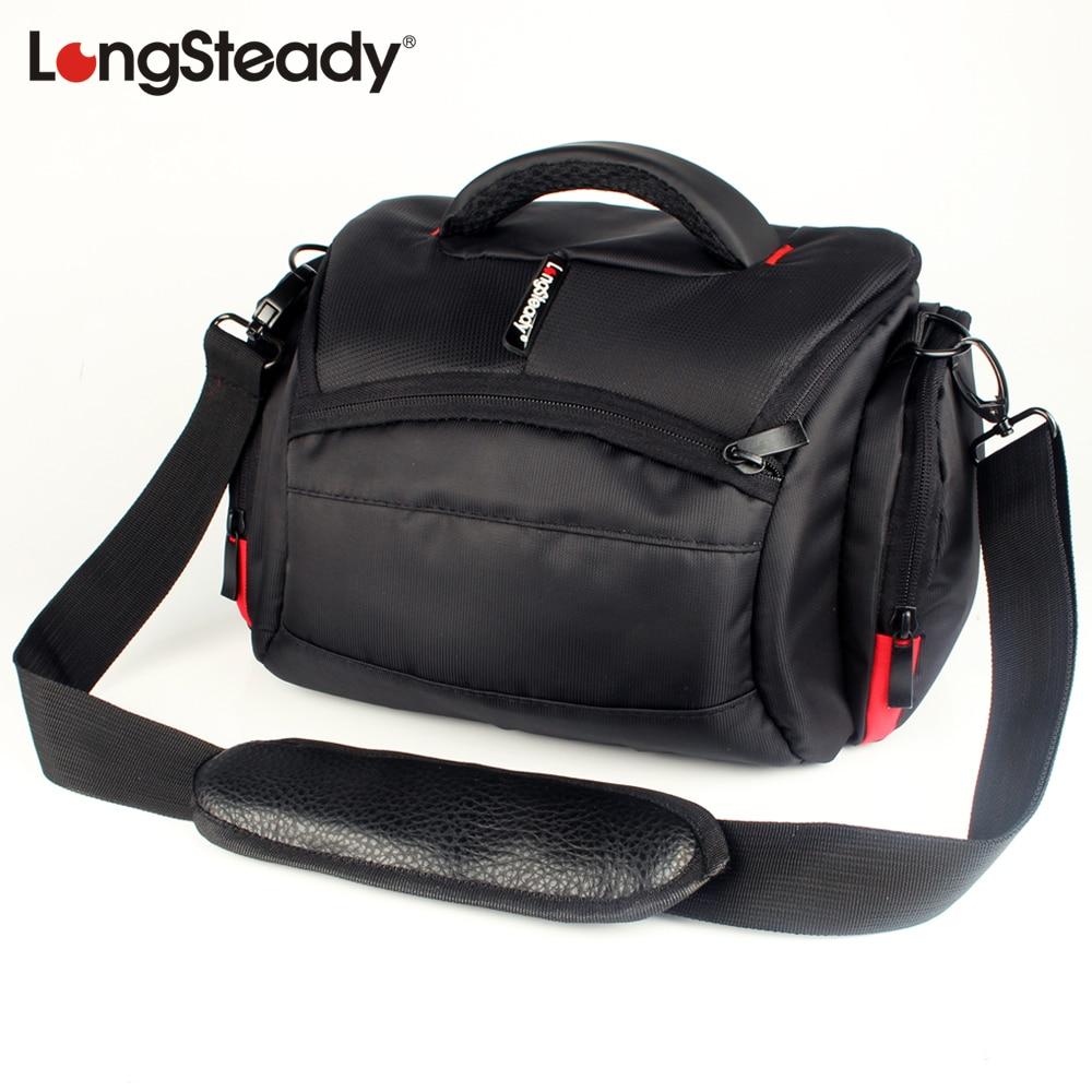 LongSteady DSLR Camera Shoulder Bag For Canon EOS 1500D 1300D 200D 1200D 760D 750D 700D 650D 600D 550D 6D 7D 5D Mark IV III Case