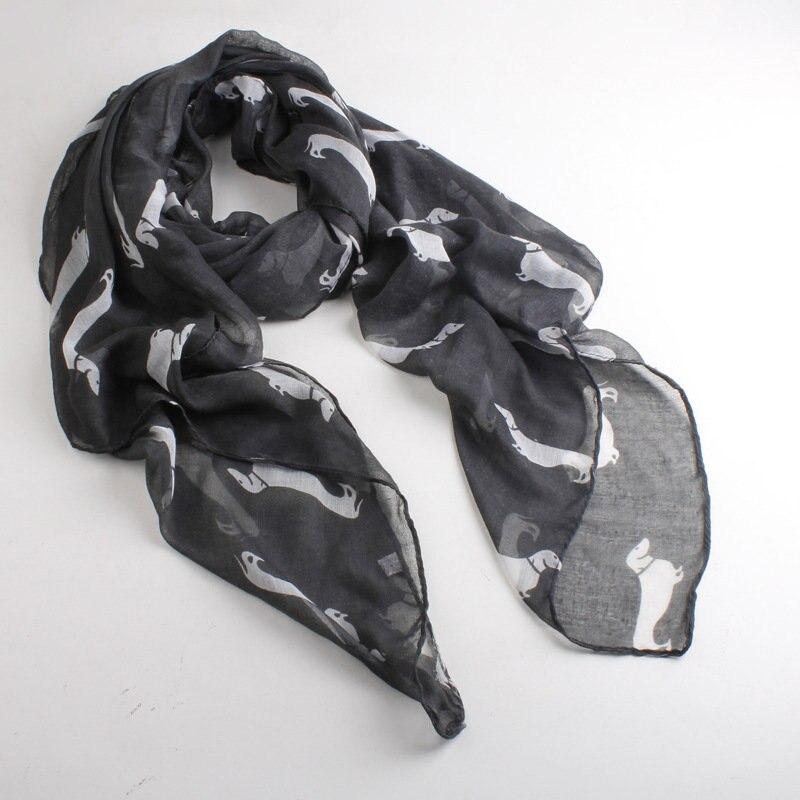 10 шт./лот Новый Дизайн мода животных шарф Горячая Распродажа зимние собака шарф большие размеры voile шарф Бесплатная доставка