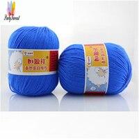 Blended Wool Yarn For Knitting Silk Knitting Yarn Soft Warm Baby Yarn Knitting Anti Eco Friendly