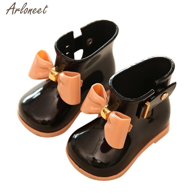 Girl Shoes Baby Bow Cute Summer 27 Rain Children