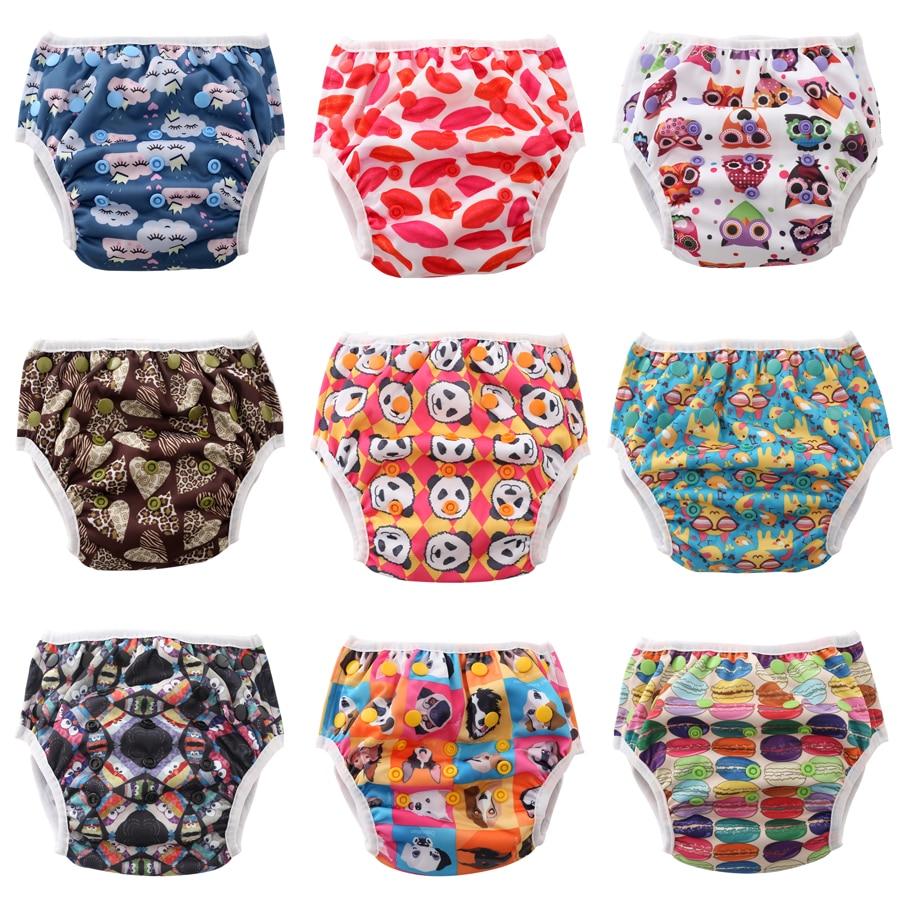 JinoBaby Diapers for Swimming Cloth Swim Diaper Swimwear Cute Reusable Swim Diaper for NB-24Months