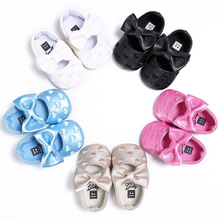 Newborm Shoes PU Leather Multicolor Baby Girl Soft Bow Tassel Bottom Non-slip Crib
