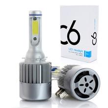 2x H15 светодио дный лампы 72 Вт 10000LM Беспроводной фар автомобиля лампа DR L преобразования дальнего света поиска 6000 К для MAZDA Audi BMW