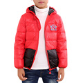 2017 New Winter Autumn White Down Filler Leisure Jacket Ordinary Thin Children Short Hooded Boy Warm Coat Zipper Boys And Girls