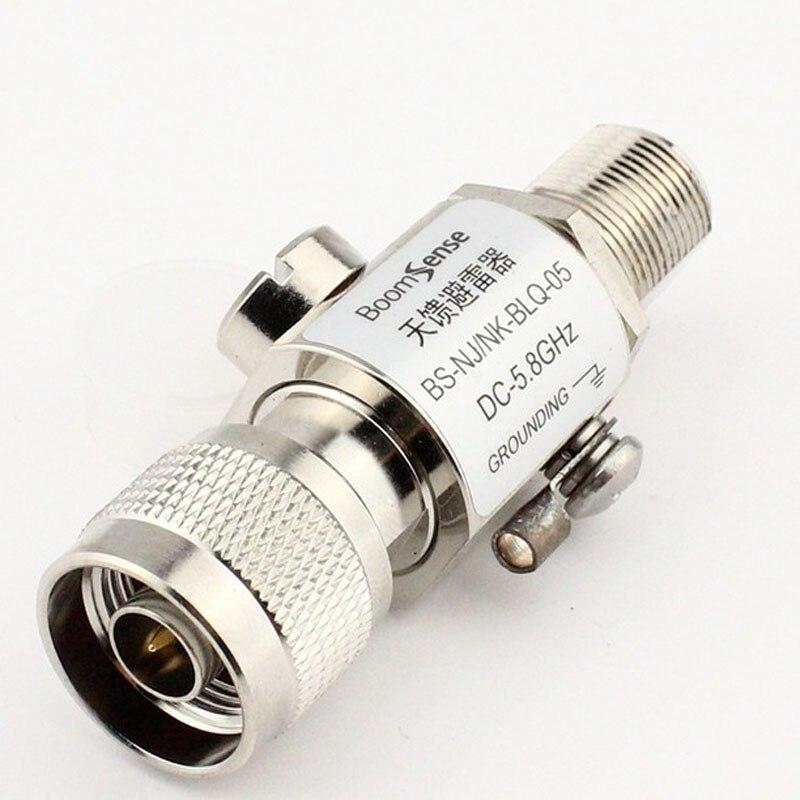 10pcs Feeder Lightning N Connector Plug Antenna Or Weak Base Station Lightning Arrester N Male To N Female Jack Protection
