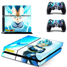 Dragon Ball Sun Goku Skin For PS4 Console Sticker For Sony PlayStation 4 Console Skin and 2 Controller Skin цены онлайн