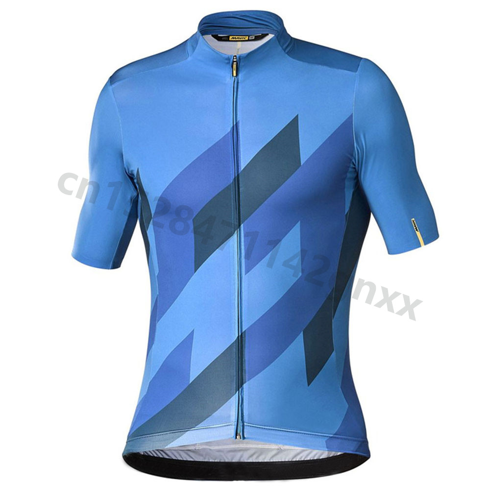 2019 Cycling Jerseys pro team Summer MAVIC Short Sleeve MTB Bike Tops Cycling Shirt Ropa Maillot Ciclismo Racing bicycle Clothes in Cycling Jerseys from Sports Entertainment