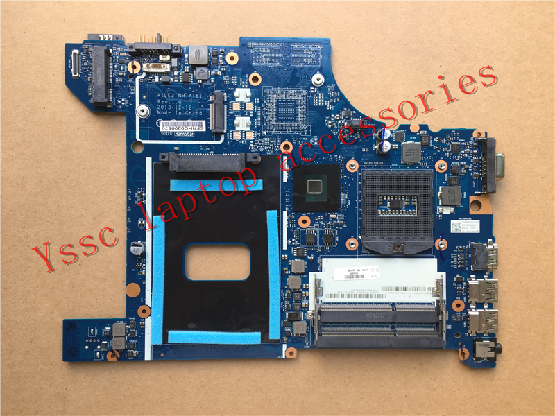 Free shipping Brand New AILE2 NM A161 Motherboard for Lenovo Thinkpad Edge E540 Motherboard PGA947