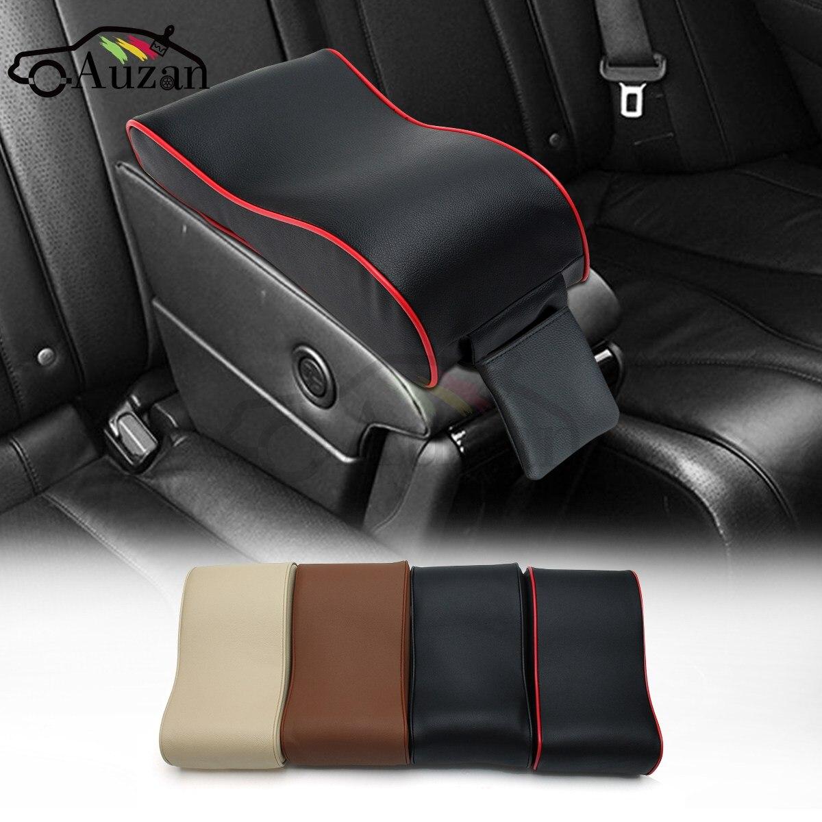 car universal armrest box mats car interior armrest pad set pu leather armrest box armrest top. Black Bedroom Furniture Sets. Home Design Ideas