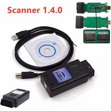 Новинка для BMW Сканер 1.4.0 сканер версии 1,4 с FT232RL чип PA мягкий 1,4 OBD2 диагностический инструмент