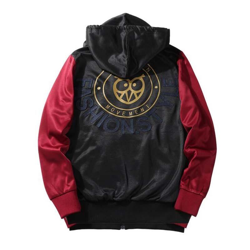 2018 Fashion Men Bomber Jacket Hip Hop Patch Designs Slim Fit Pilot Bomber Jacket Coat Men Jackets Plus Size 4XLchaquetas hombre