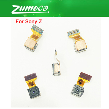 AAA+ Quality For Sony Xperia Z L36h L36i C6606 C6603 C6602 Sony Z Rear Camera Back Flex Cable Main Rear Back Big Camera Module image