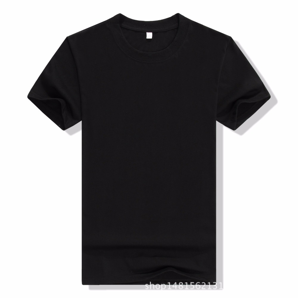 2017 New Solid color T Shirt Mens Black And White T-shirts Summer Skateboard Tee Boy Hip hop Skate Tshirt Tops Men S-3XL tees